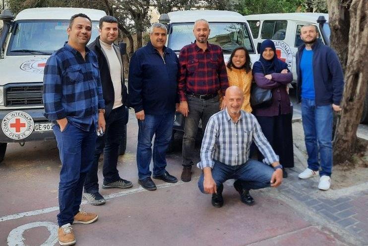 EcoSec Team ICRC Gaza